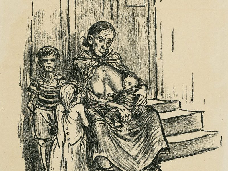 Heinrich Zille: Hunger