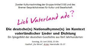 Lieb Vaterland adé