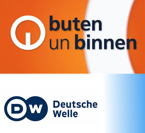 buten un binnen Logo, Deutsche Welle Logo